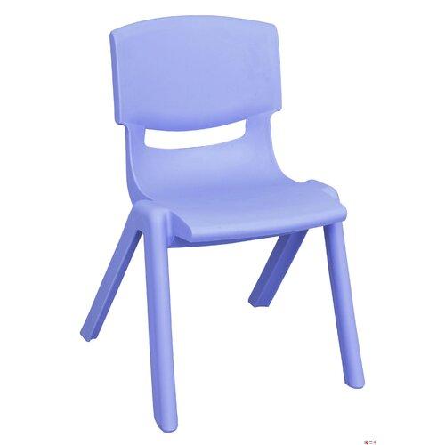 """ECR4kids 16"""" Polypropylene Classroom Stackable Chair"""
