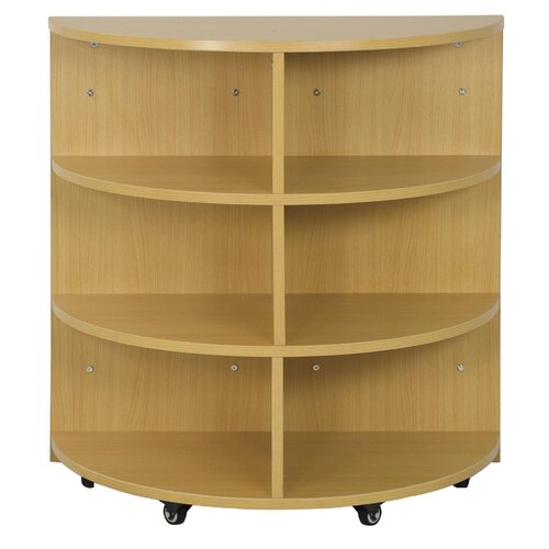 ECR4kids Half Circle High Storage Centre 6 Compartment Cubby