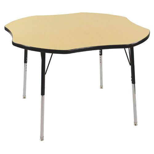 "ECR4kids 48"" Clover Classroom Table"