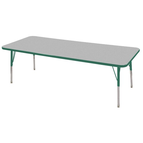 "ECR4kids 72"" x 30"" Rectangular Classroom Table"