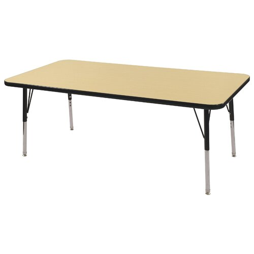 "ECR4kids 60"" x 30"" Rectangular Classroom Table"