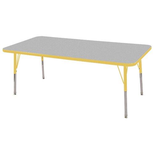 "ECR4kids 60"" x 30"" Rectangular Classroom Table"
