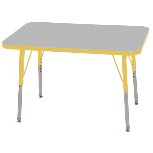 "ECR4kids 36"" x 24"" Rectangular Classroom Table"