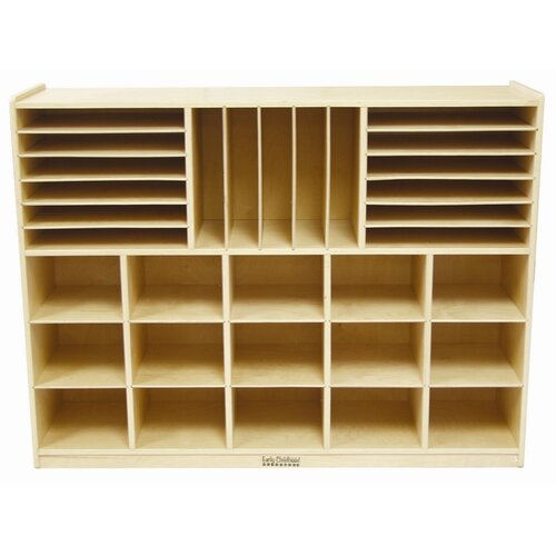 ECR4kids Multi Section Storage Cabinet 32 Compartment Cubby