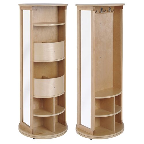 ECR4kids Round Locker/Dress Up Carousel