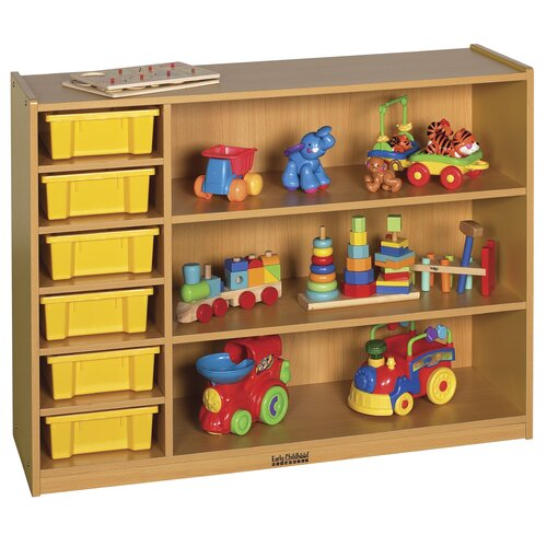 ECR4kids Colorful Essentials™ 3 Level Multi-Purpose Cabinet