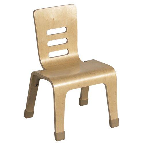 """ECR4kids 6"""" Bentwood Classroom Stackable Chair"""
