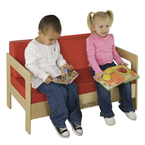 ECR4kids Living Room Set - Birch Sofa
