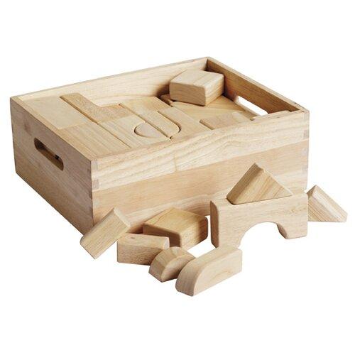 ECR4kids Hardwood Building Blocks 64 pcs