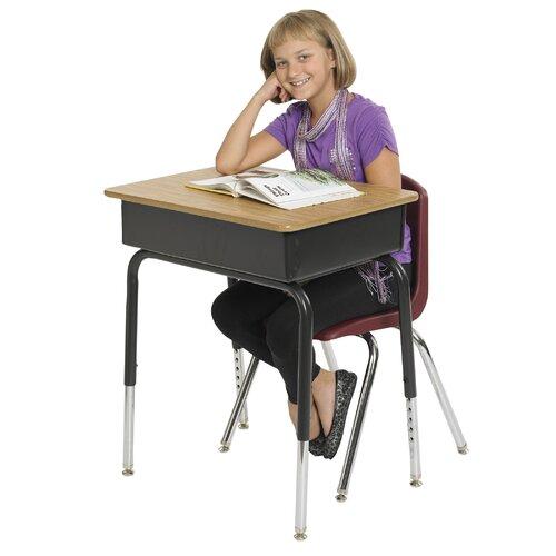 ECR4kids Laminate Open Front Desk