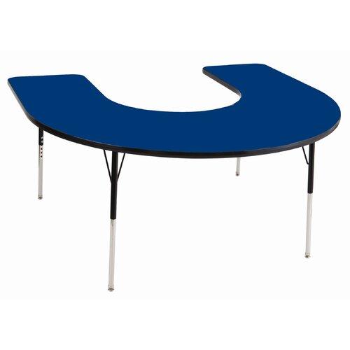 "ECR4kids 66"" x 60"" Horseshoe Classroom Table"