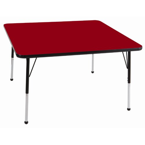 "ECR4kids 30"" Square Adjustable Activity Table"