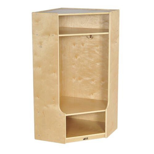 ECR4kids Corner Section Locker with Bench