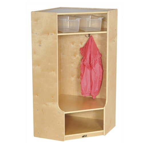 ECR4kids 1-Section Corner Locker