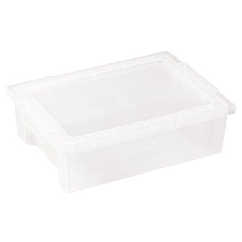 ECR4kids Small Storage Bin with Clear Lid