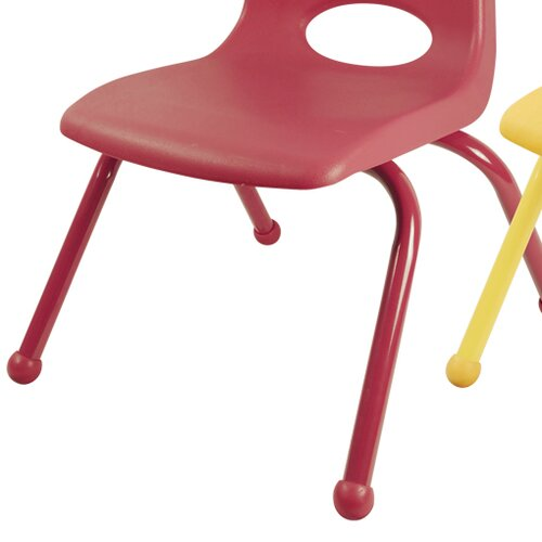"ECR4kids 10"" Plastic Classroom Stackable Chair"