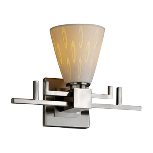 Justice Design Group Limoges Aero 1 Light Wall Sconce