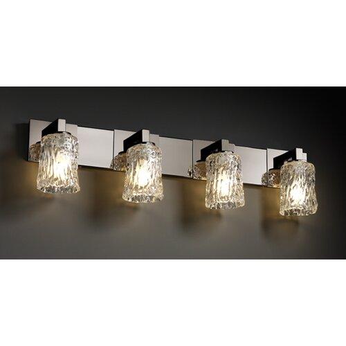 Justice Design Group Veneto Luce Modular 4 Light Bath Vanity Light