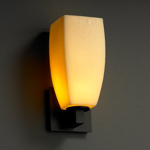 Justice Design Group CandleAria Modular 1 Light Wall Sconce