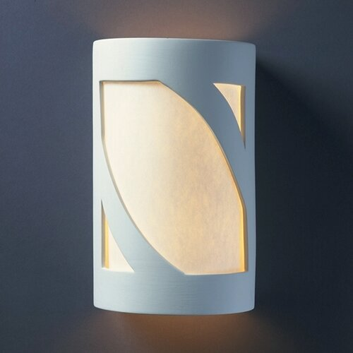 Justice Design Group Ambiance 1 Light Outdoor Wall Lantern