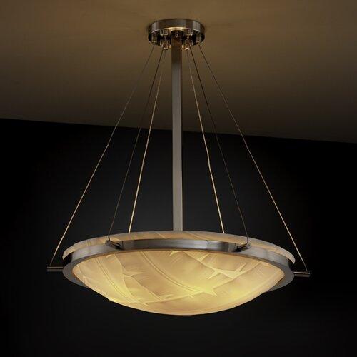 Justice Design Group Porcelina 6 Light Inverted Pendant