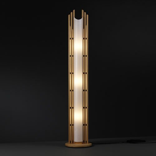 Justice Design Group Domus 3 Light Portable Floor Lamp