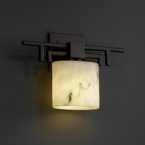 Justice Design Group LumenAria Aero 1 Light Wall Sconce