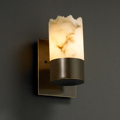 Justice Design Group LumenAria Dakota 1 Light Wall Sconce