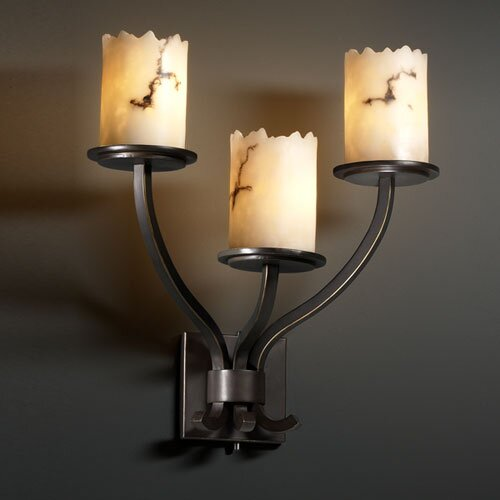 Justice Design Group LumenAria Sonoma 3 Light Wall Sconce