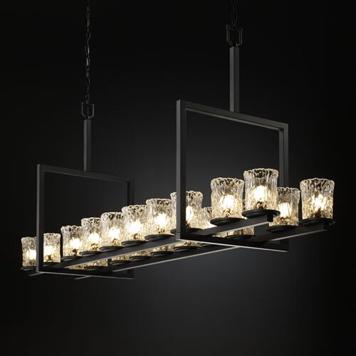 Justice Design Group Veneto Luce Dakota 20 Light Chandelier