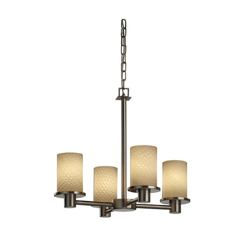 Fusion Rondo 4 Light Chandelier
