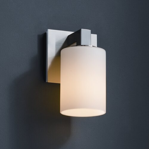 Justice Design Group Fusion Modular 1 Light Wall Sconce