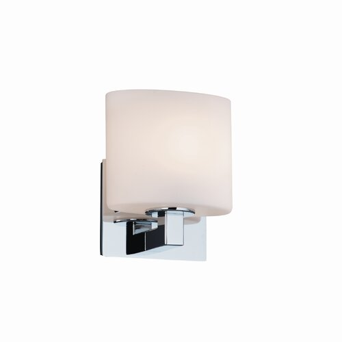 Justice Design Group Modular Fusion 1 Light Wall Sconce