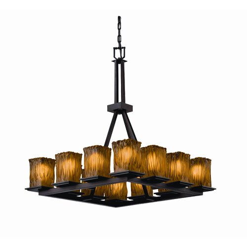 Montana Veneto Luce 12 Light Tall Chandelier