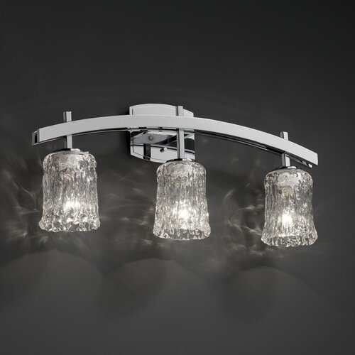 Justice Design Group Archway 3 Light Bath Vanity Light