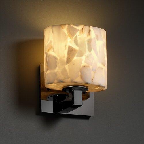 Justice Design Group Alabaster Rocks Modular 1 Light ADA Wall Sconce