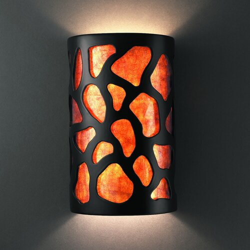 Justice Design Group Ambiance 1 Light Wall Sconce