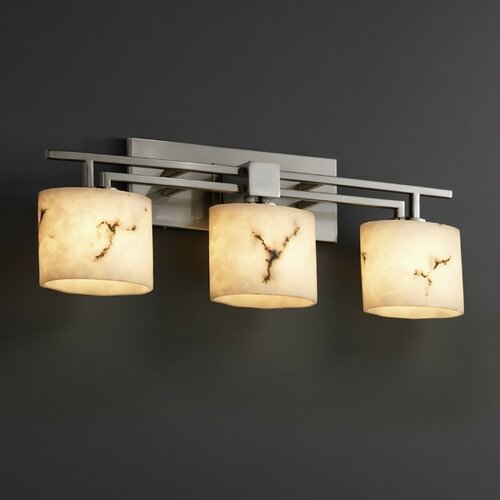 Justice Vanity Lights : Justice Design Group LumenAria Aero 3 Light Bath Vanity Light & Reviews Wayfair