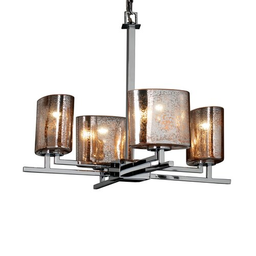 Fusion Aero 4 Light Chandelier