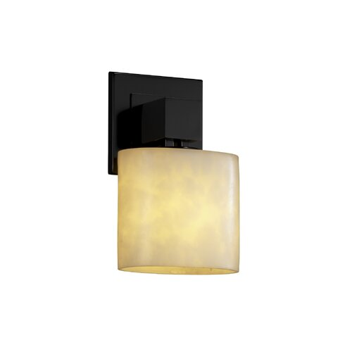 Justice Design Group Clouds Aero 1 Light Wall Sconce