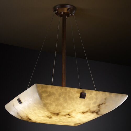LumenAria 6 Light Inverted Pendant