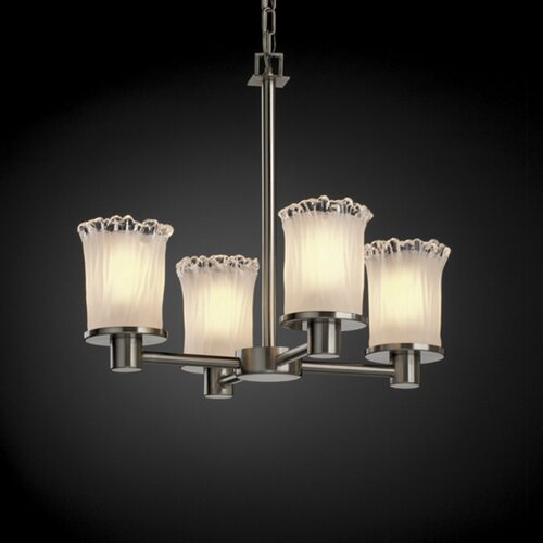 Rondo Veneto Luce 4 Light Chandelier