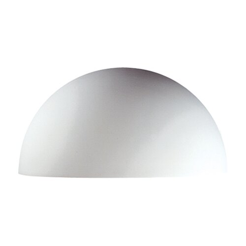 Justice Design Group Ambiance Quarter Sphere 2 Light Outdoor Wall Sconce