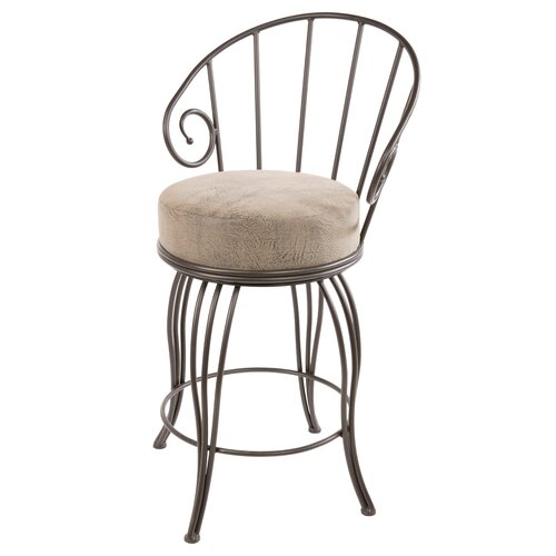 "Stone County Ironworks Bella 25"" Swivel Bar Stool"