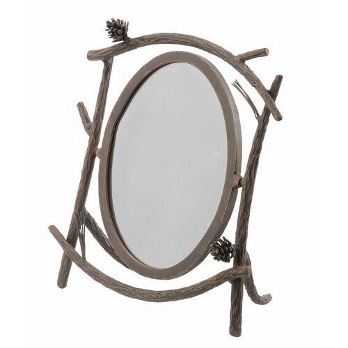 Stone County Ironworks  Pine Table Mirror