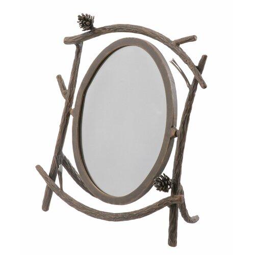 Pine Table Mirror
