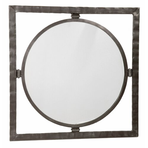 Stone County Ironworks Forest Hill  Large Round Mirror