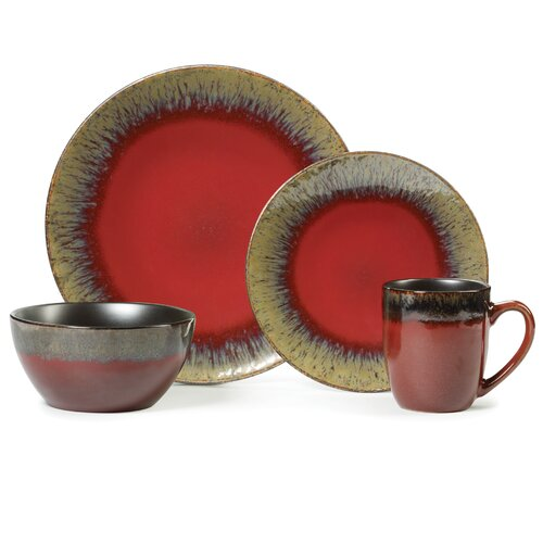 Gourmet Basics 16 Piece Dinnerware Set