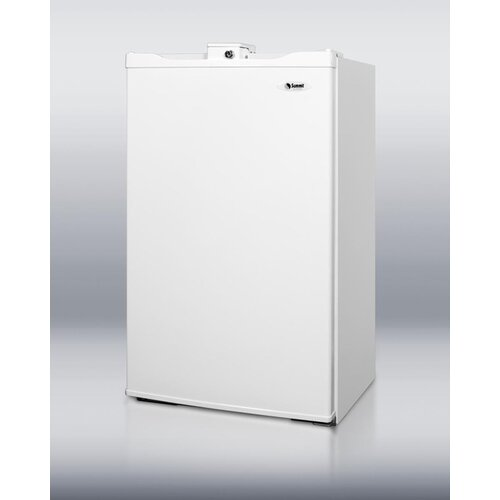 3.9 Cu. Ft. Compact Refrigerator with freezer