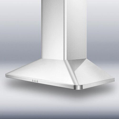 "Summit Appliance 36"" 650 CFM  European Style Wall Mount Range Hood"